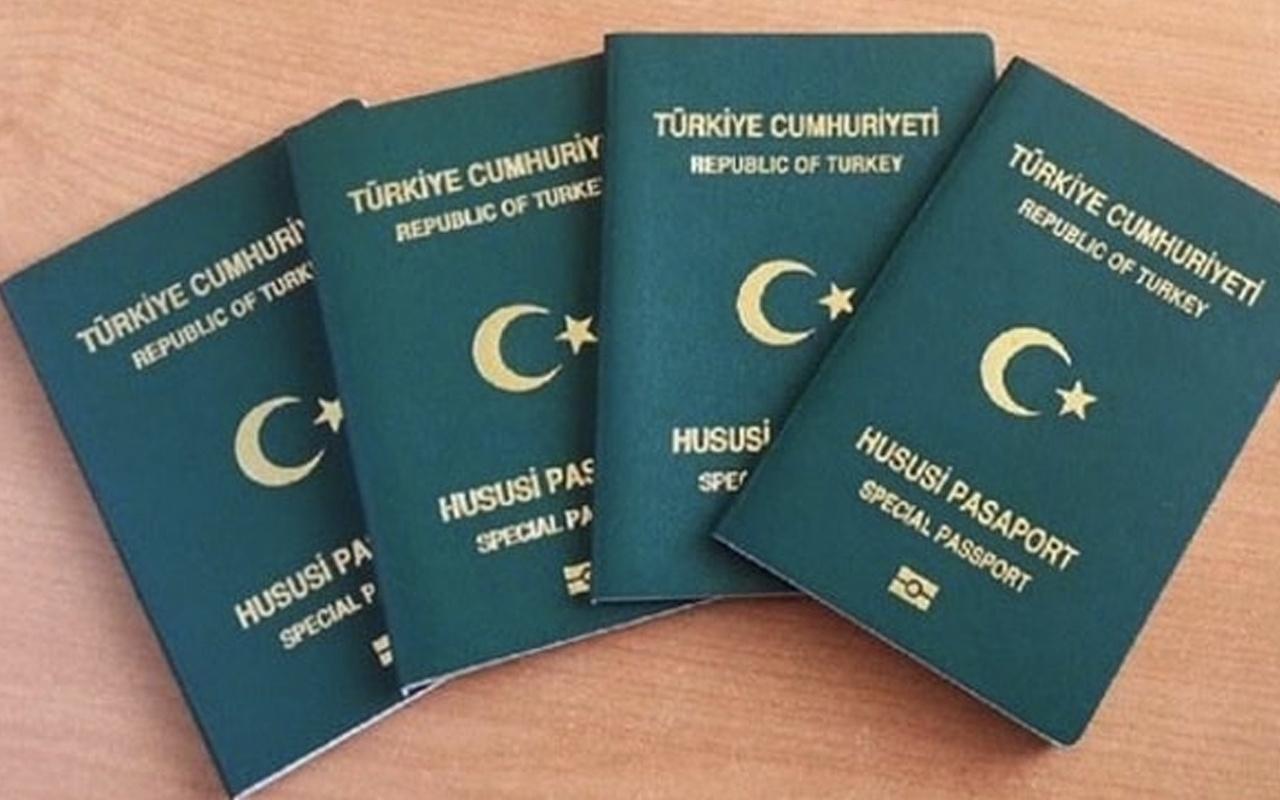 Hususi pasaport nedir kimler hususi pasaport alır Yeşil pasaport özellikleri