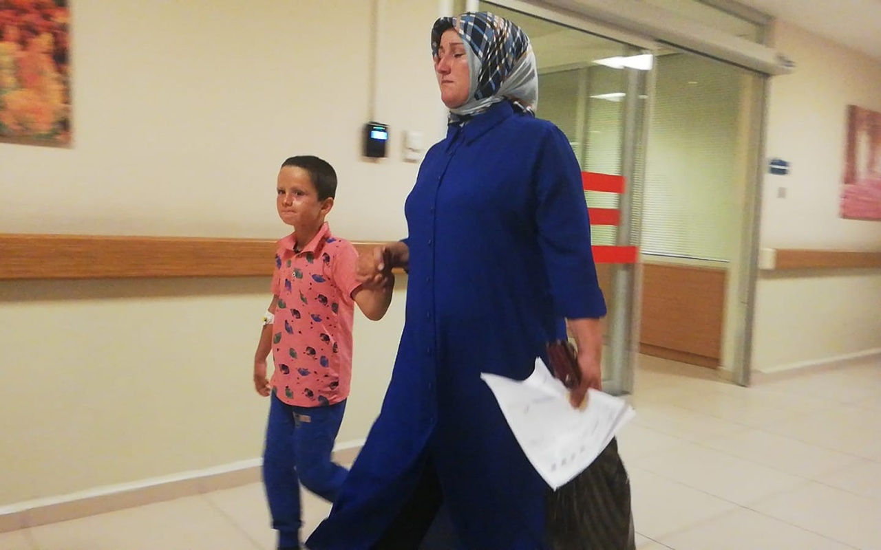 Bursa'da yanıcı maddeyle oynayan çocuk yaralandı
