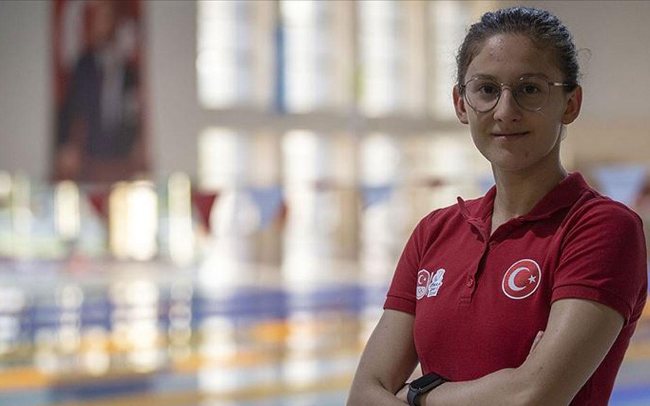Boğulma korkusuyla başladı! Olimpiyatlarda yüzecek