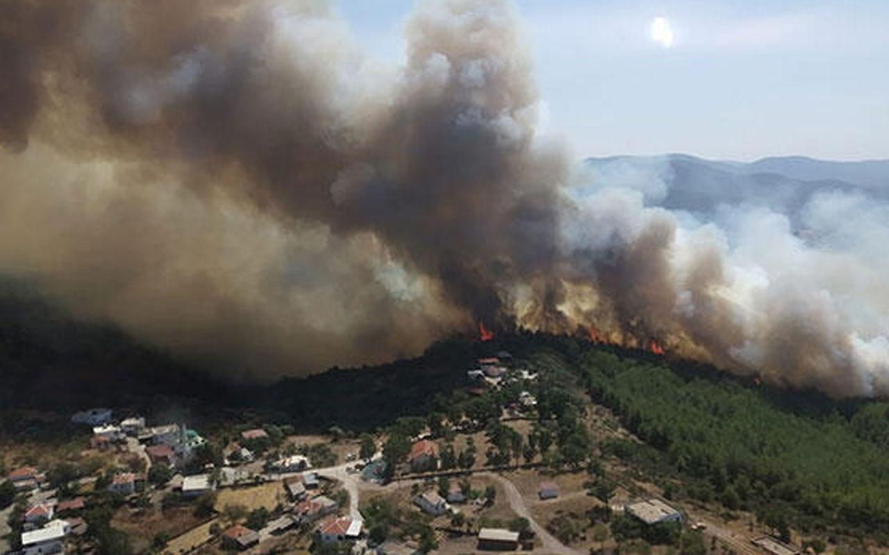 Muğla'dan peş peşe yangın haberleri