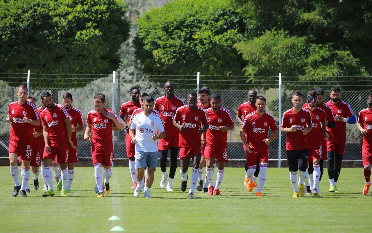 Sivasspor'da forma numaraları belli oldu