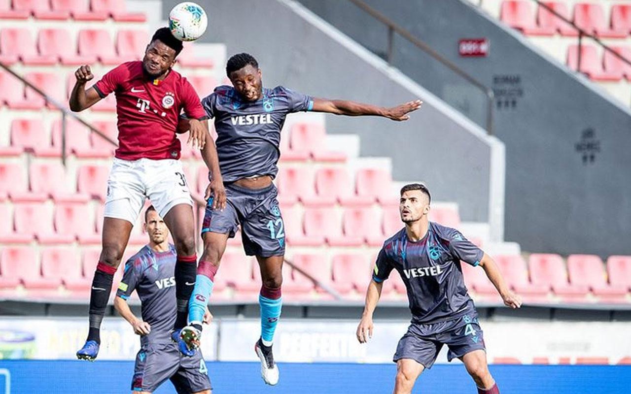 Trabzonspor pes etmedi avantajı kaptı