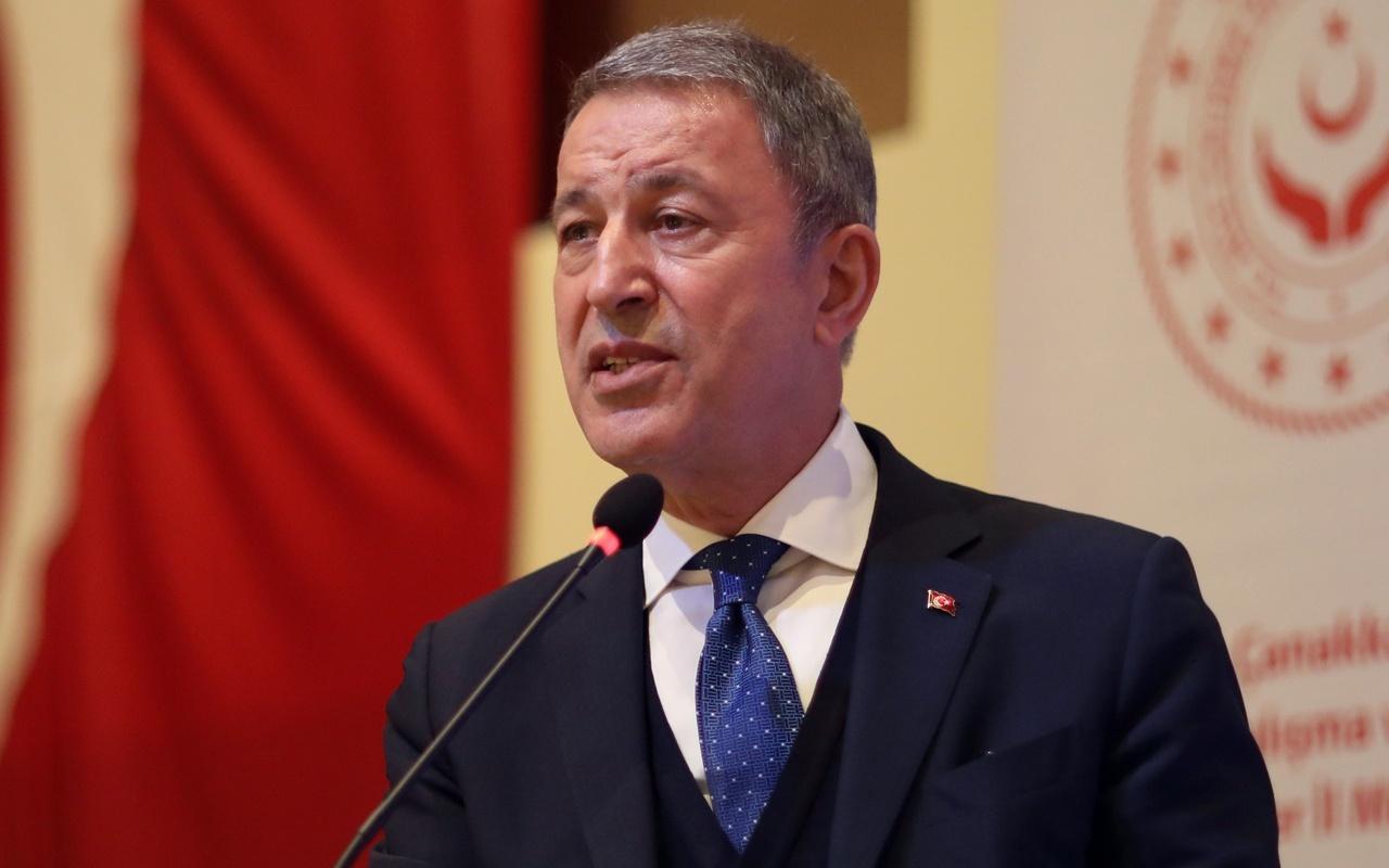 Bakan Akar'dan çok net 'Kıbrıs' mesajı: Müsaade etmeyiz