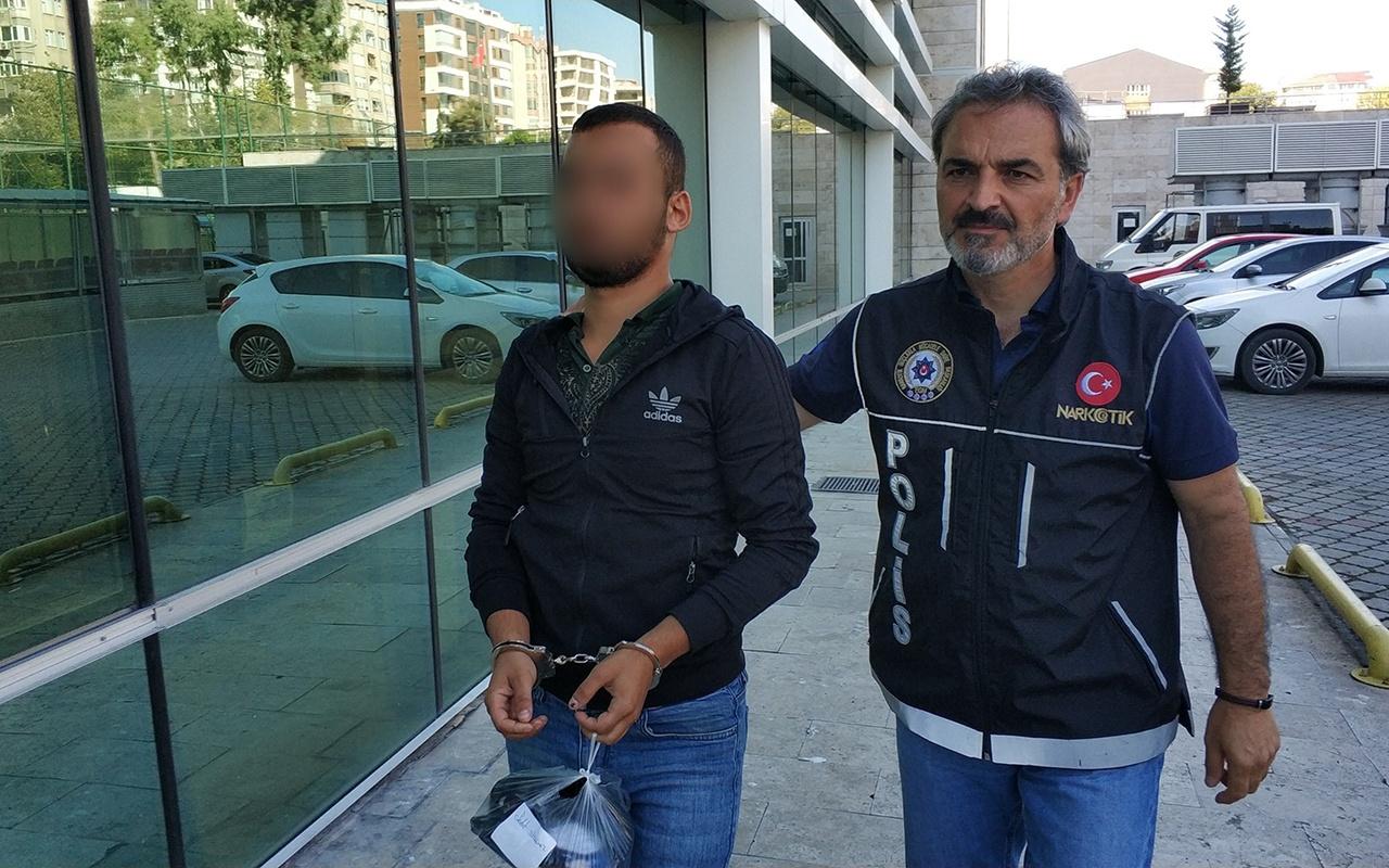 Samsun'da uyuşturucu operasyonu! 2 gözaltı
