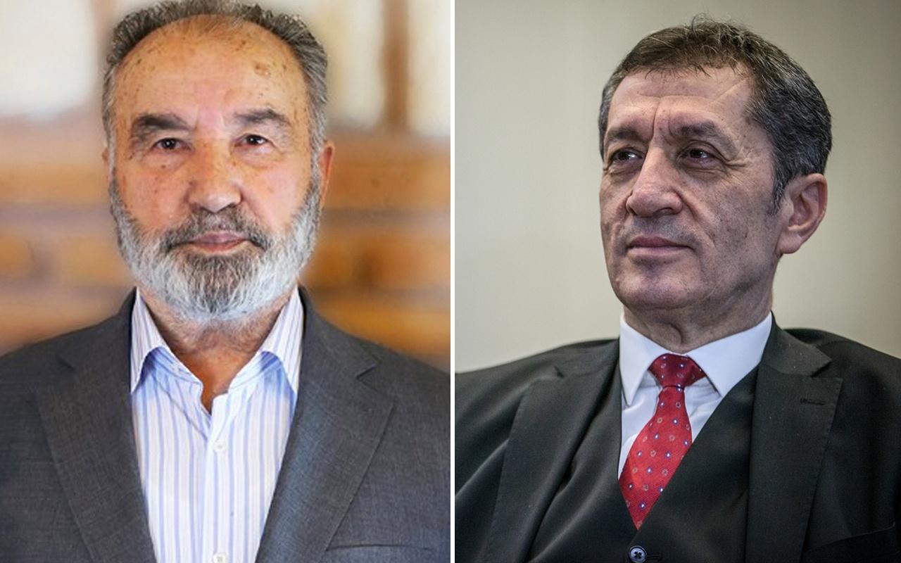 Milli Eğitim Bakanı Ziya Selçuk yaptı Hayrettin Karaman 'işte bu olmadı' dedi