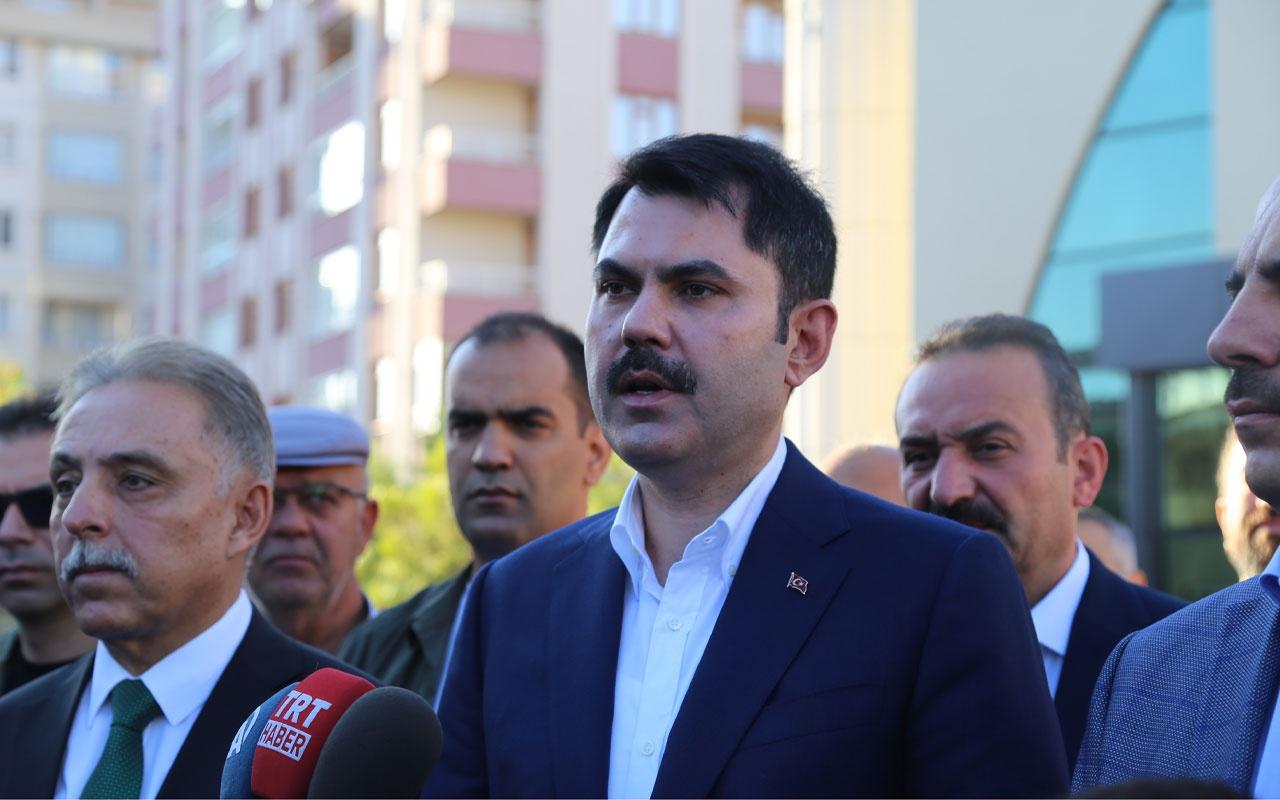 Çevre ve Şehircilik Bakanı Murat Kurum'dan namaz çıkışı bayram mesajı