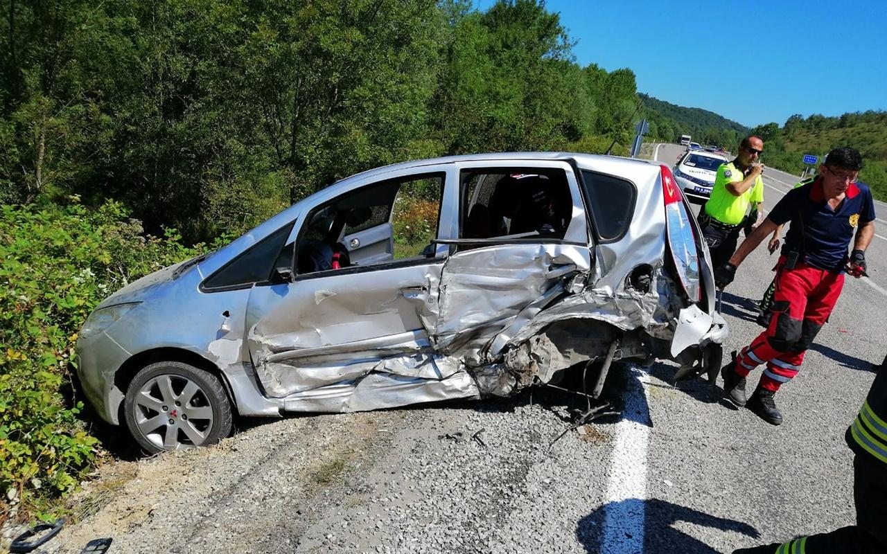 Zonguldak'ta feci kaza! 5 kişi yaralandı