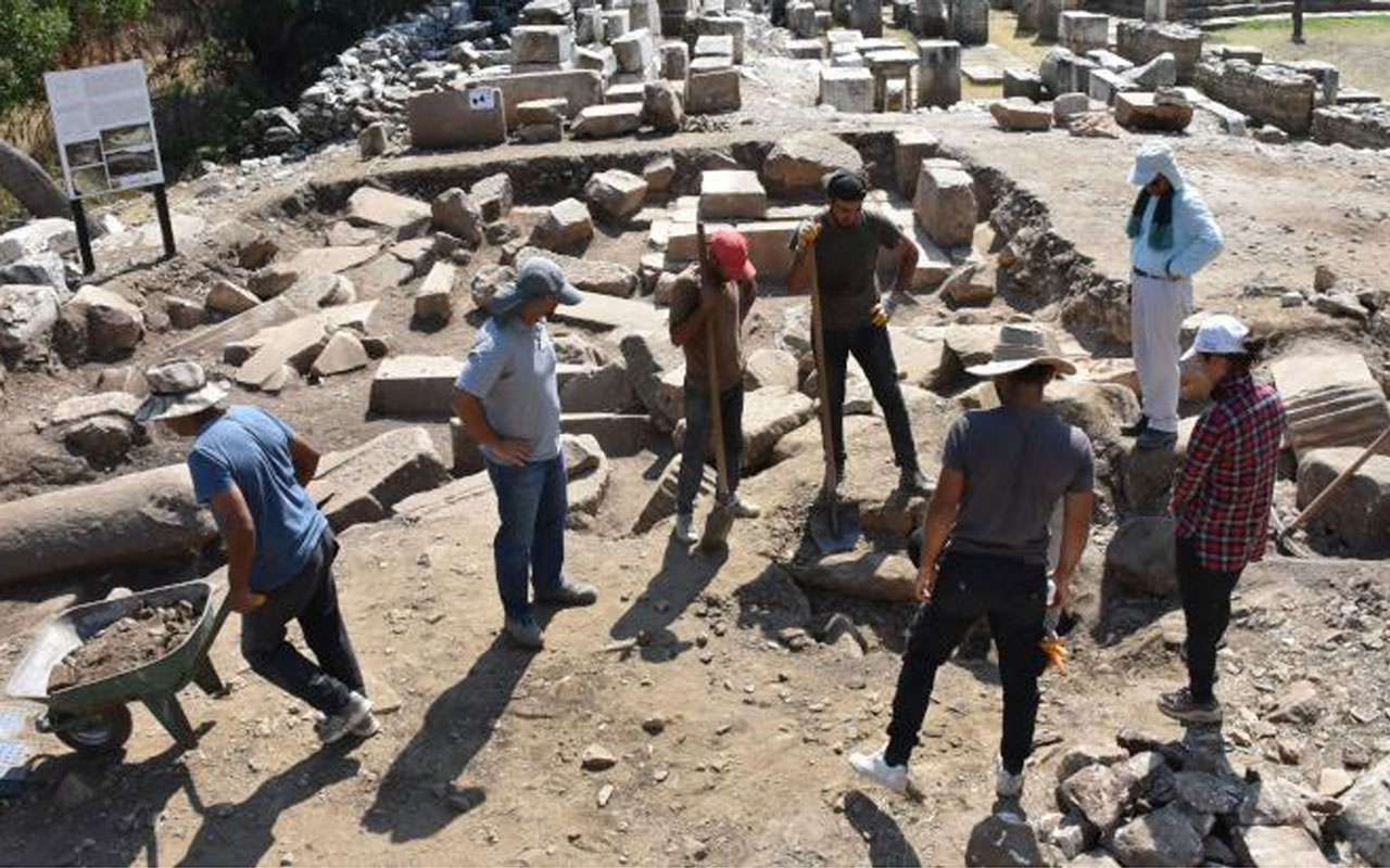 Strakonikeia Antik Kent'i gün yüzüne çıkarılacak! Tam 2 bin 200 yaşında