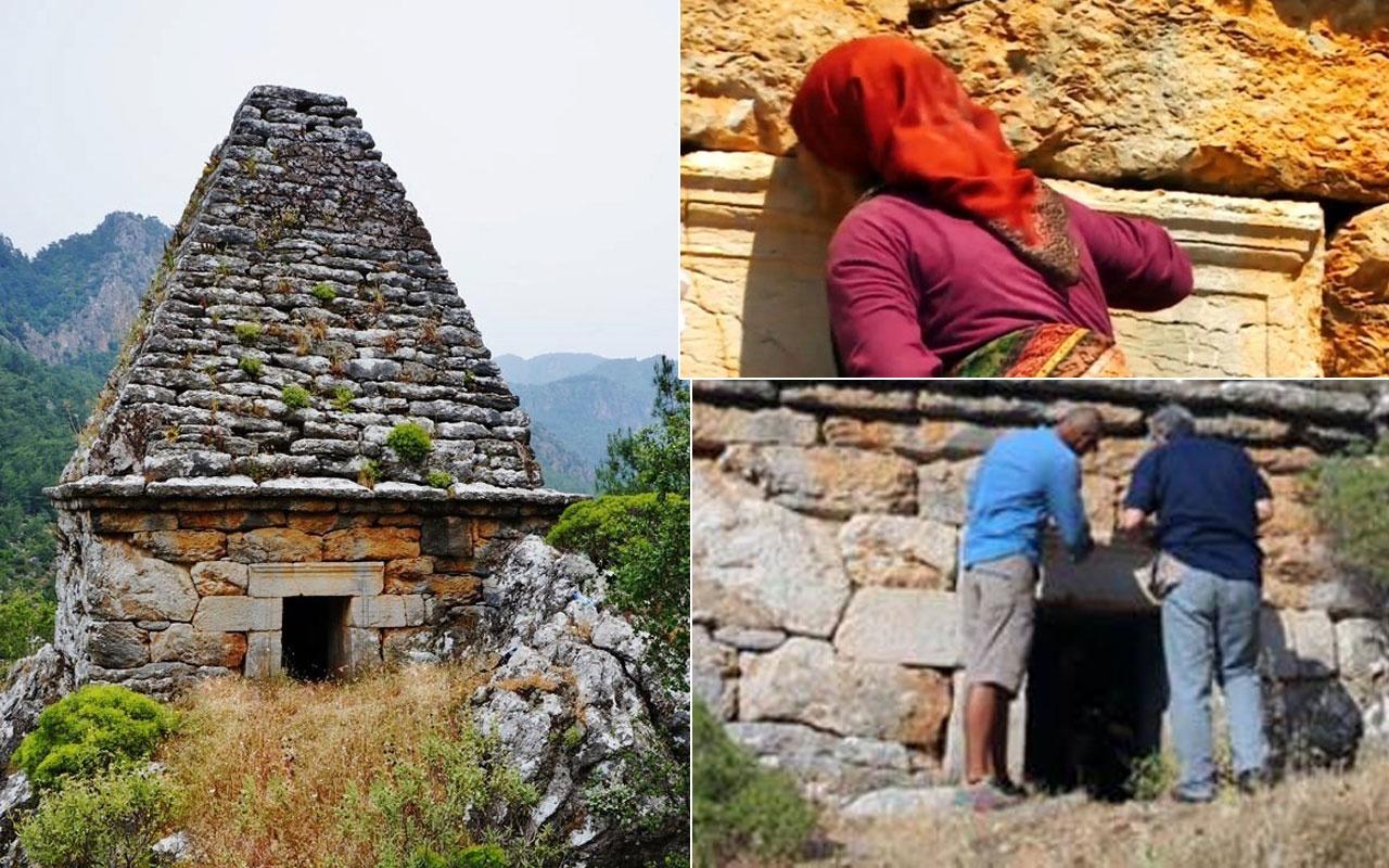 Marmaris'te yıllarca Çağbaba adıyla türbe sanılıp dua edildi gerçekte gladyatör mezarıymış