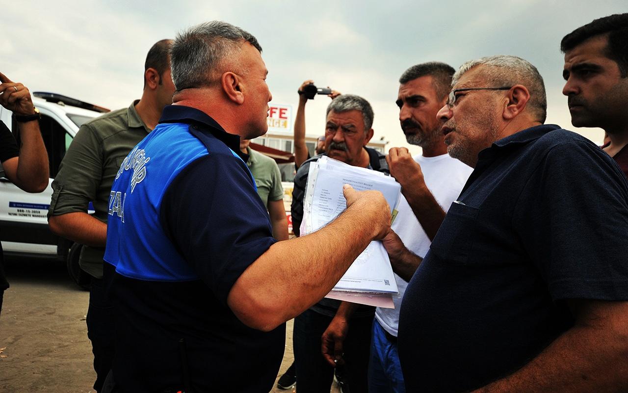 Bursa'da gazinin darp edildiği kafe kapatıldı