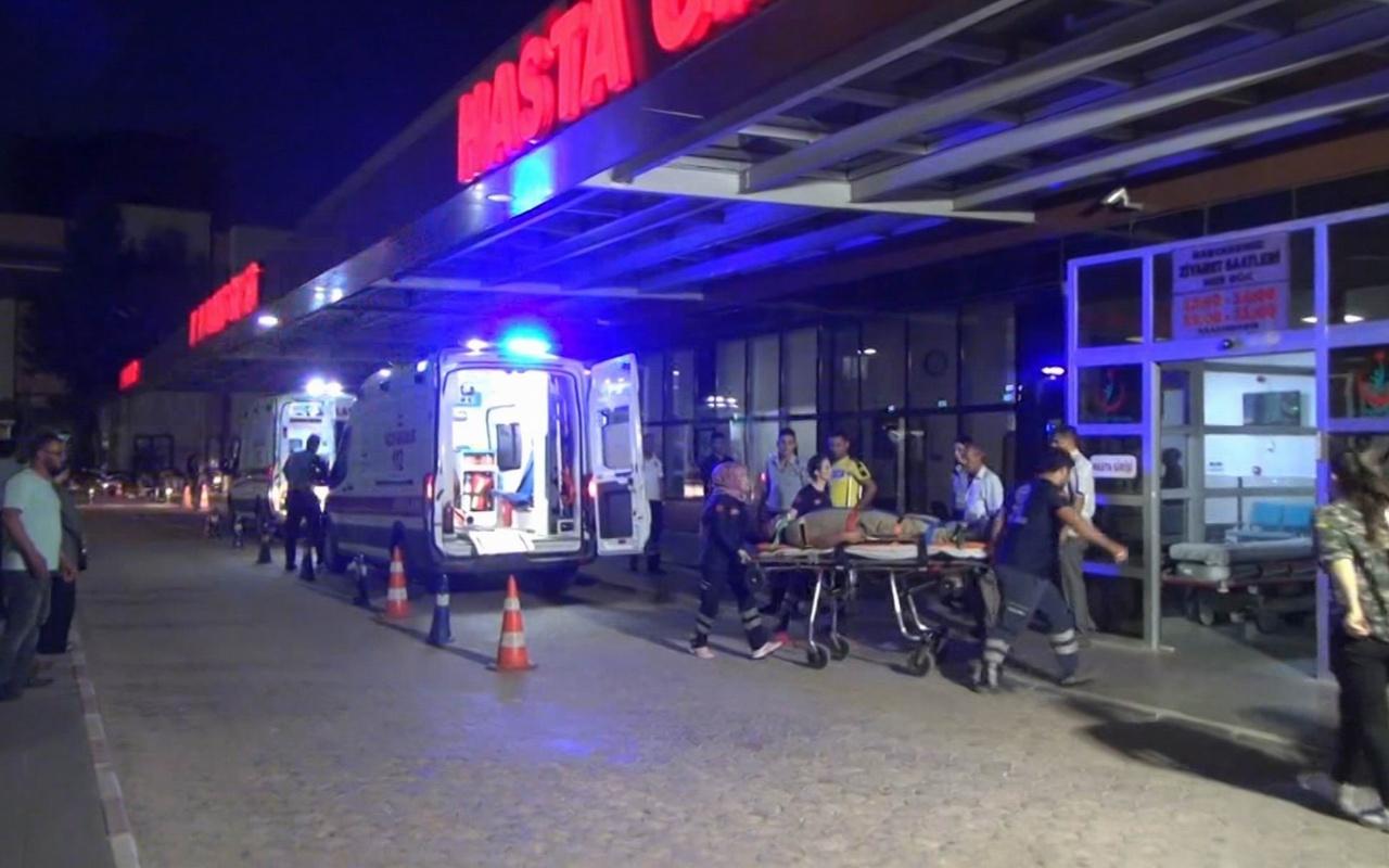 Kilis'te askeri araç devrildi 8 asker yaralı