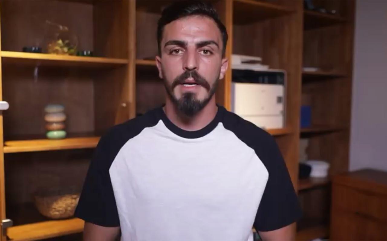 Süper Kupa finalinde sahaya atlayan YouTuber'dan özür videosu
