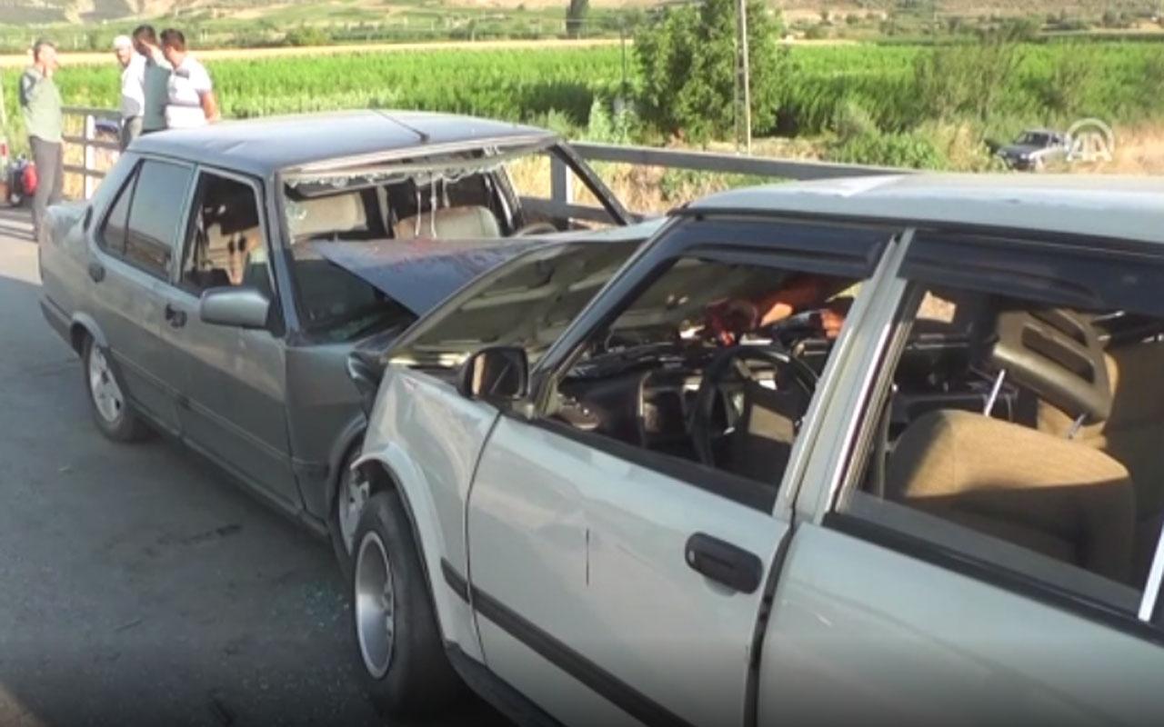 İzmir'in Ödemiş ilçesinde kaza: 11 yaralı