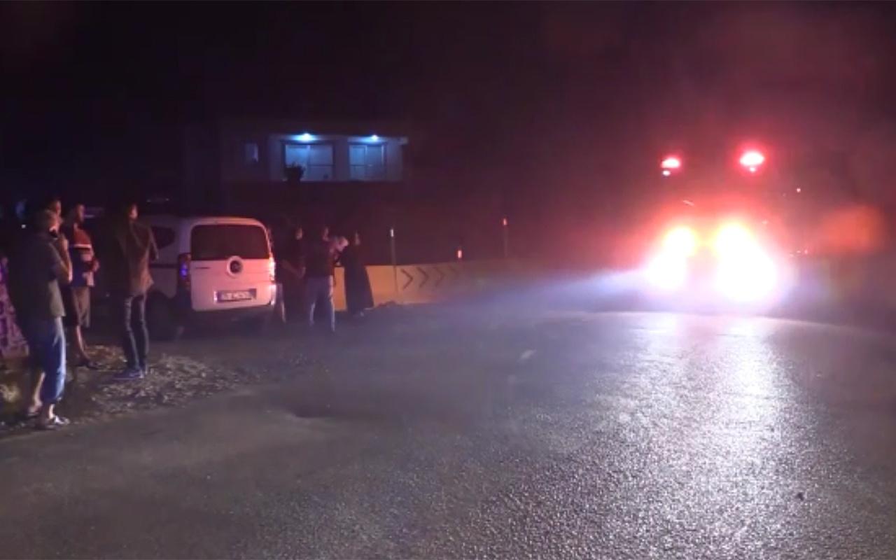 İzmir Seferihisar'da yangın nedeniyle mahalle boşaltıldı