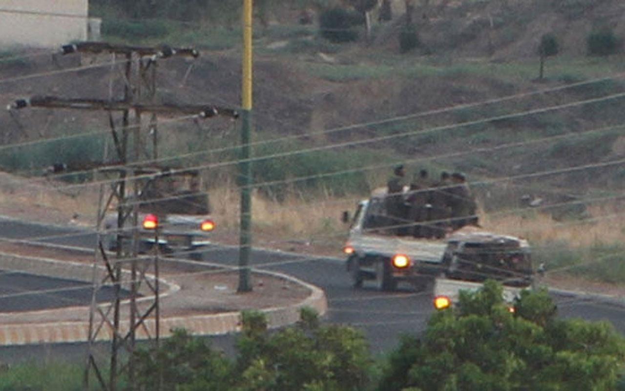 Mardin'den şok görüntü! 3 kamyonette 50 terörist böyle görüntülendi