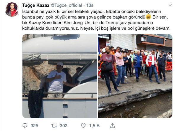 Ekrem İmamoğlu'nun ikinci tatili Tuğçe Kazaz'ın twiti olay oldu - Sayfa 10