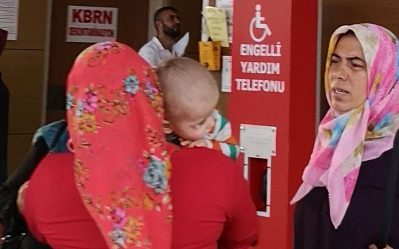 Bursa'da 2. kattan düşen Eymen bebek şans eseri ölümden döndü!