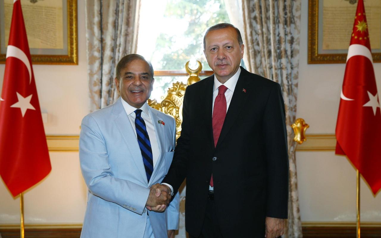 Şahbaz Şerif Erdoğan'a ve Türkiye'ye teşekkür etti