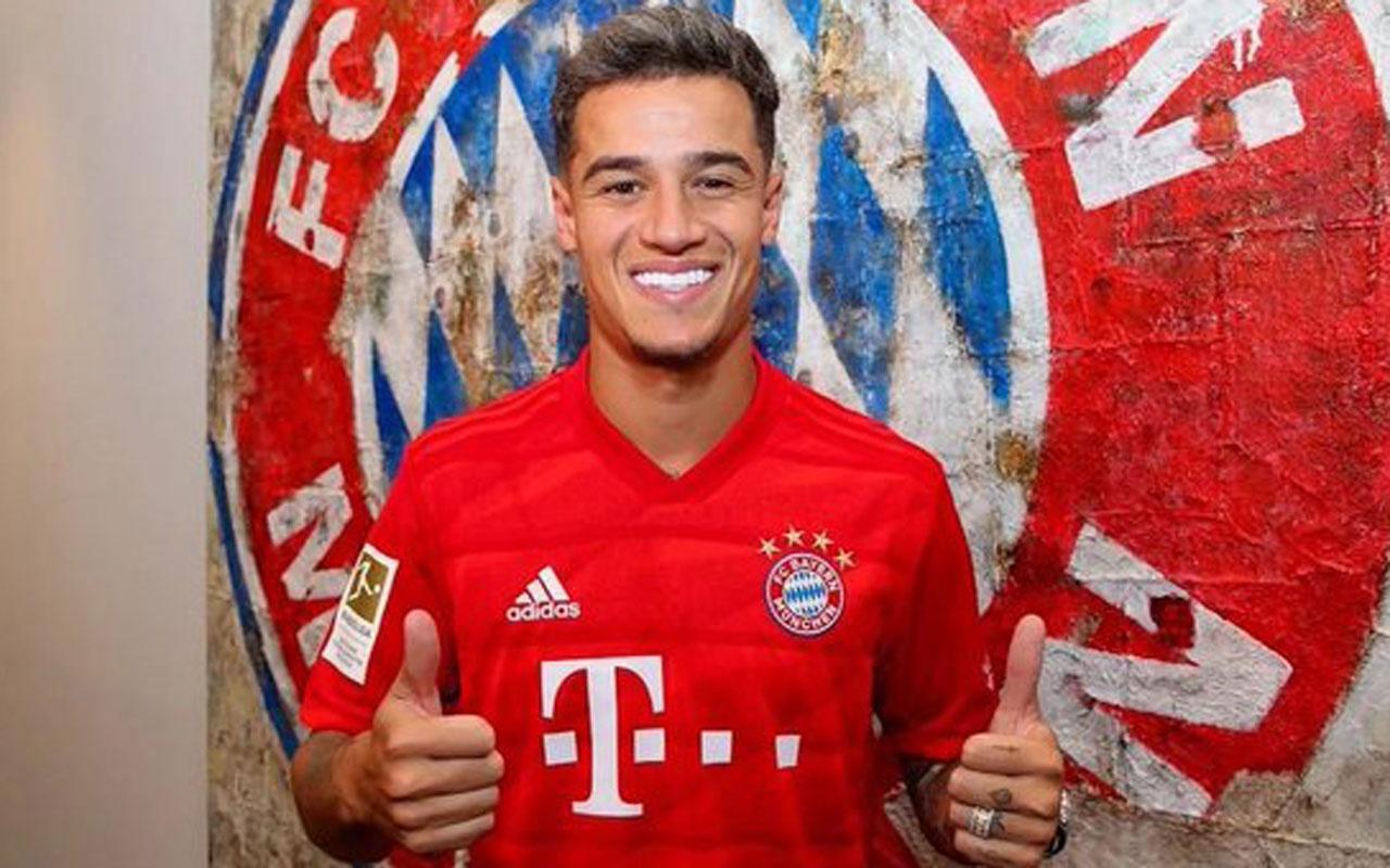 Bayern Münih Barcelonalı Philippe Coutinho'yu transfer etti