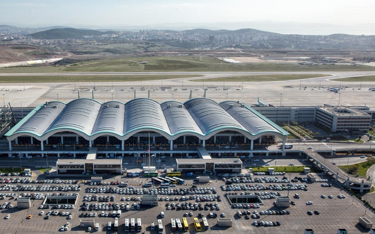 Sabiha Gökçen Havalimanı'nı bayram tatilinde 1 milyon 108 bin yolcu kullandı!