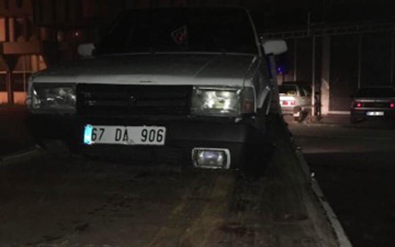 5 bin liralık otomobilin sürücüsü hayatının cezasını yedi