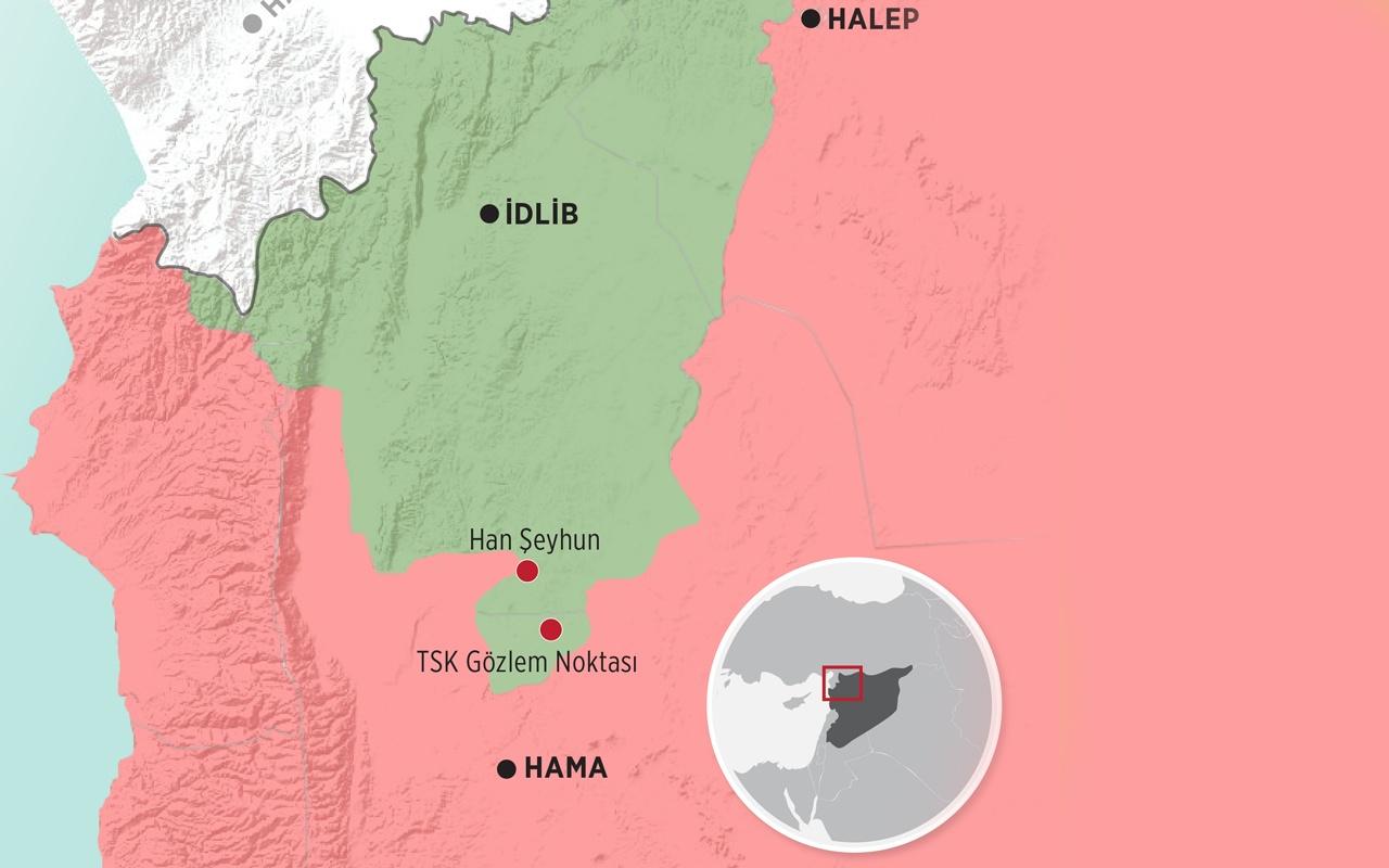 Han Şeyhun düştü! Türkiye'nin Morek üssü ablukada deniyor İdlib'de işler kötü