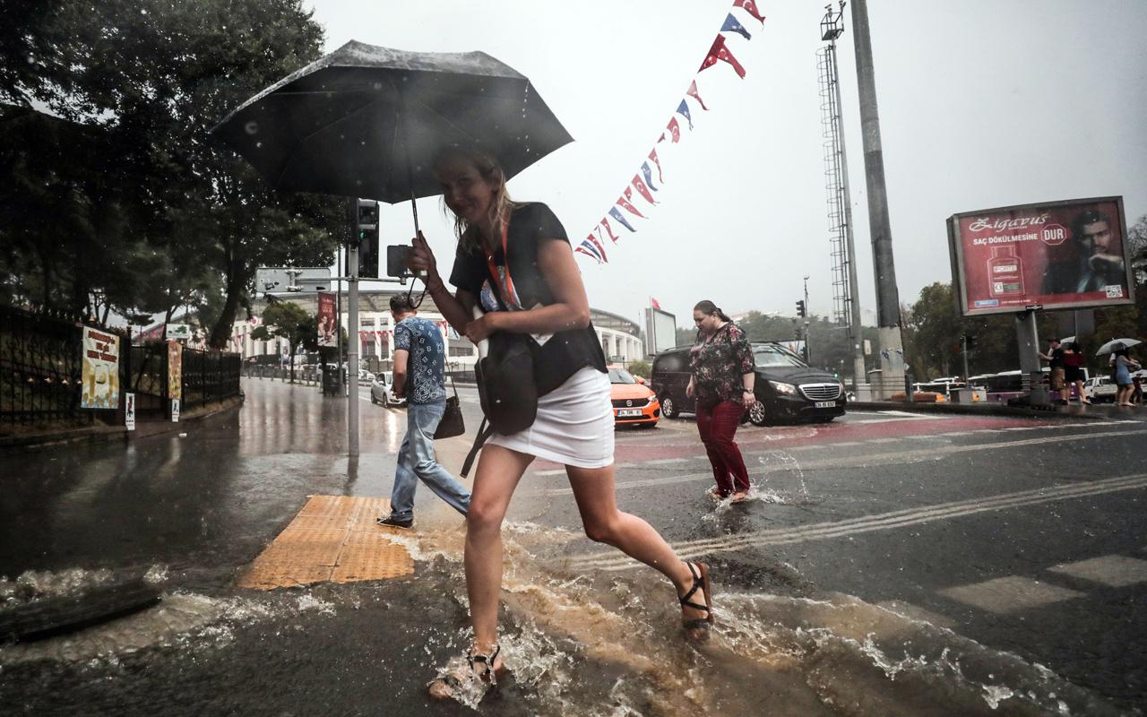 İstanbul için sarı kodlu yağış uyarısı