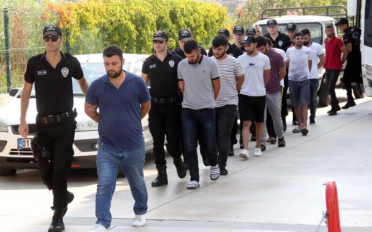 Adana'da sosyal medya üzerinden terör propagandası yapan 17 kişi yakalandı