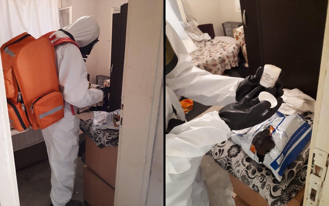 Adana'da bir eve potasyum ferrosiyanür gönderildiği iddiası