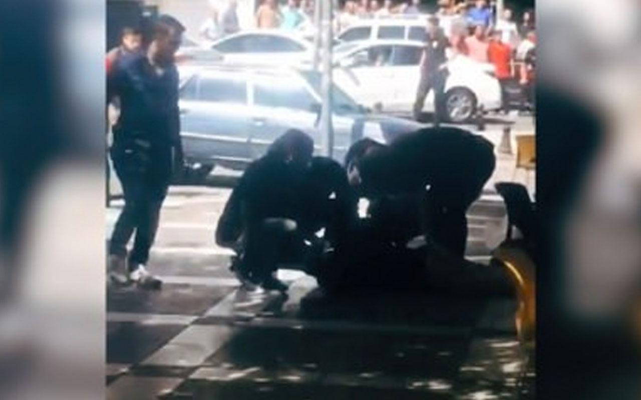 Şanlıurfa Eyyübiye'de canlı bombanın yakalandığı anbean görüntüler