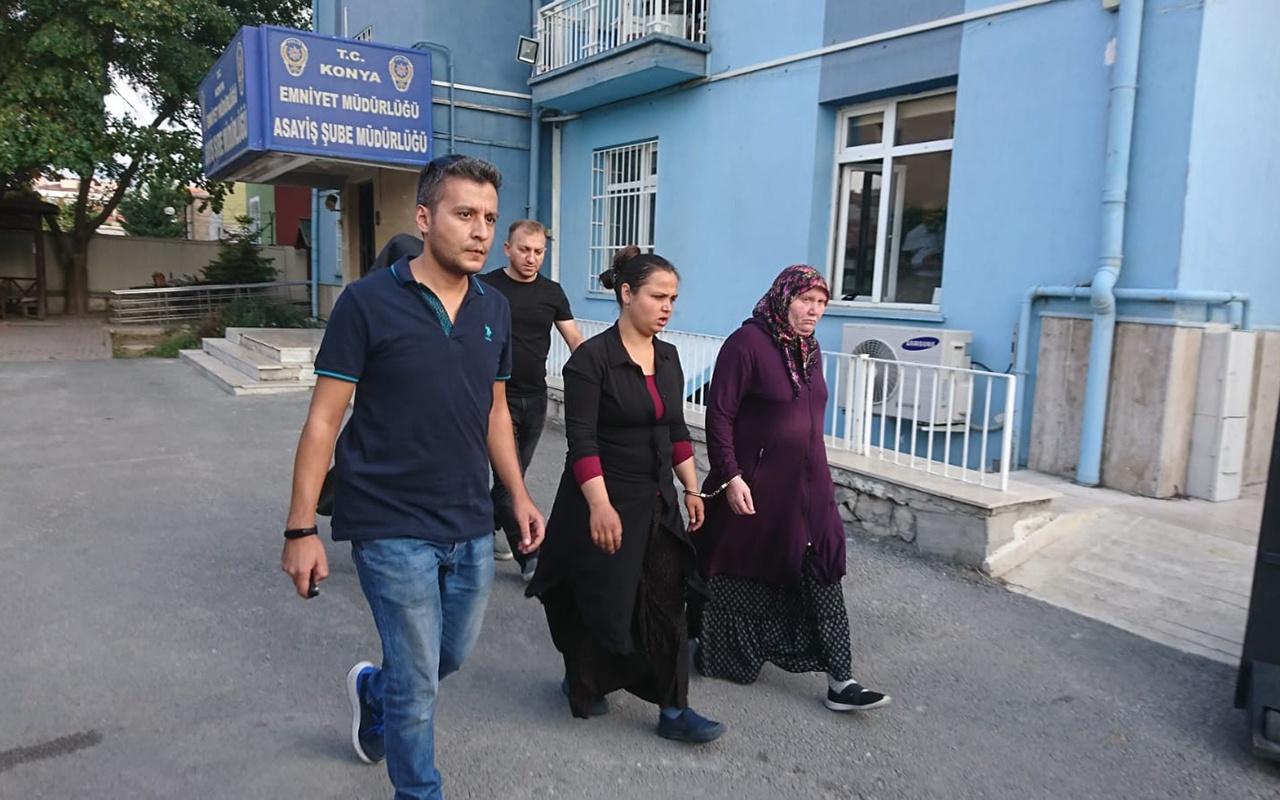 Konya'da hırsızlık için gittikleri evde fark edildiler verdikleri ifade şaşkınlık uyandırdı