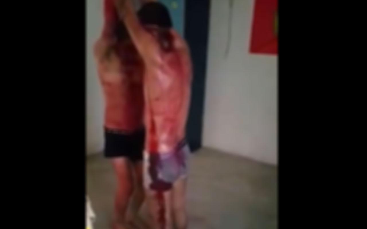 YPG/PKK'nın Suriye'deki işkence videosu