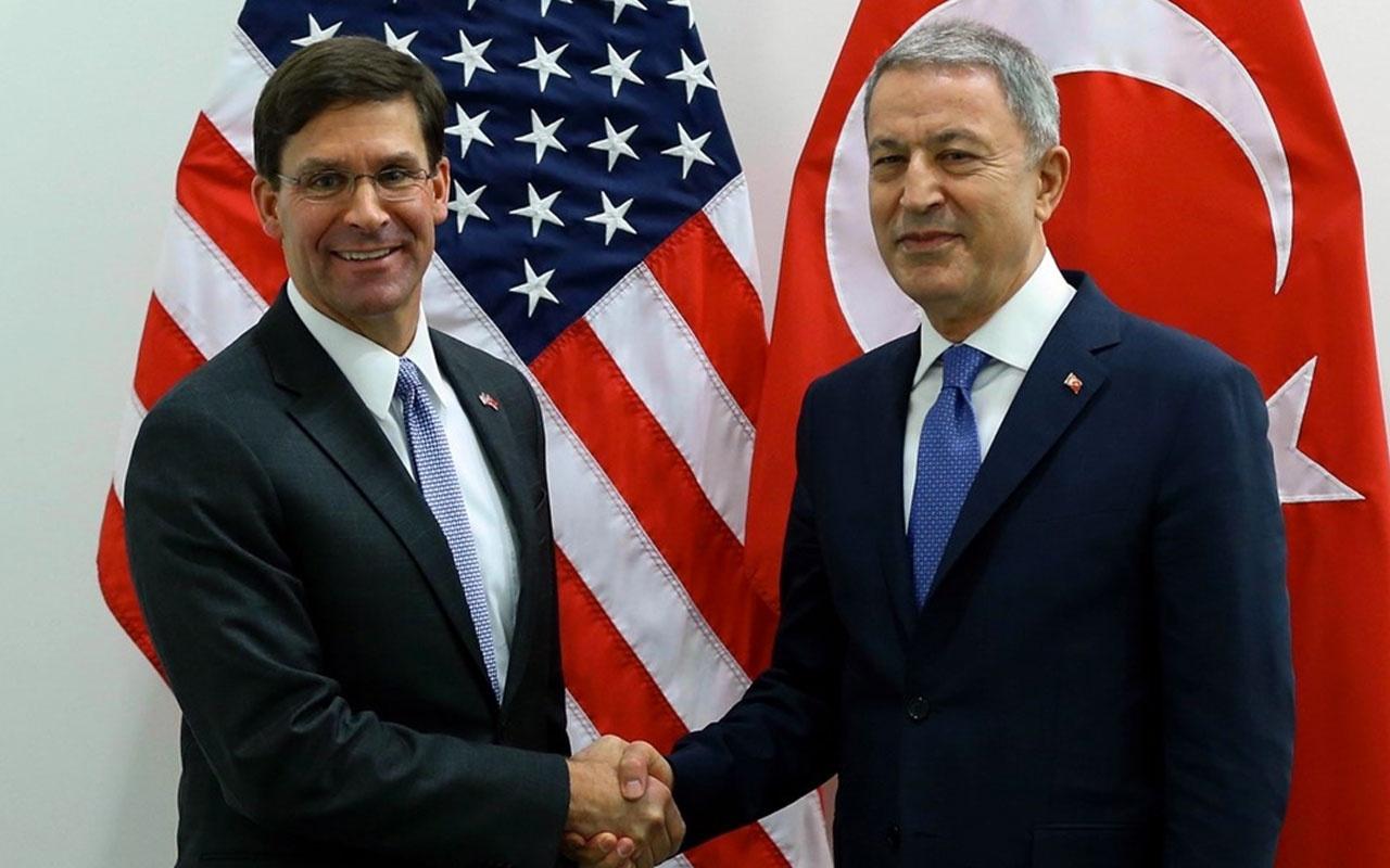 Bakan Akar'dan ABD'ye net mesaj