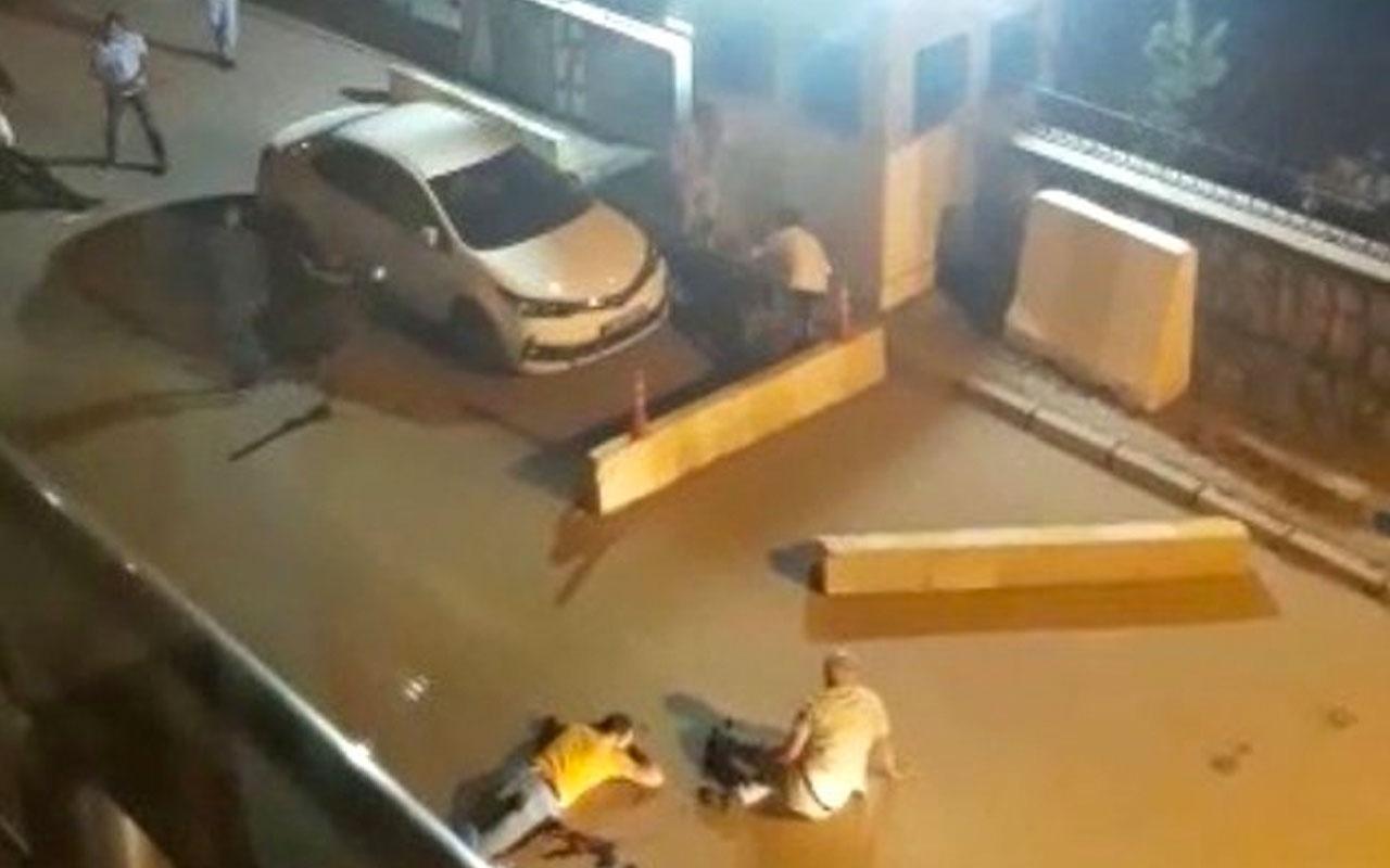 Erzurum Horasan'da polis merkezi önünde korkunç kavga! Ortalık kan gölüne döndü 2 ölü