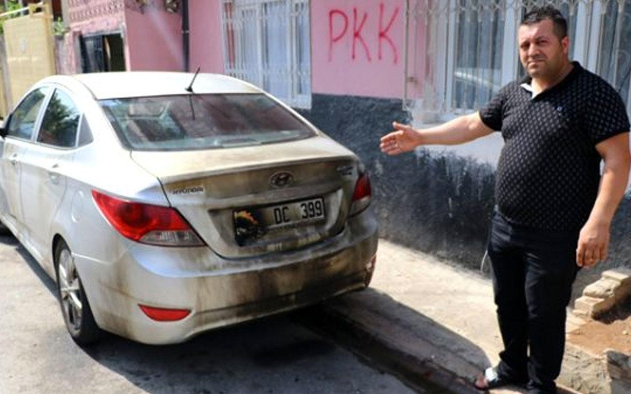 Adana'da vatandaş kayyum paylaşımı yaptı başına dert oldu aracını yaktılar