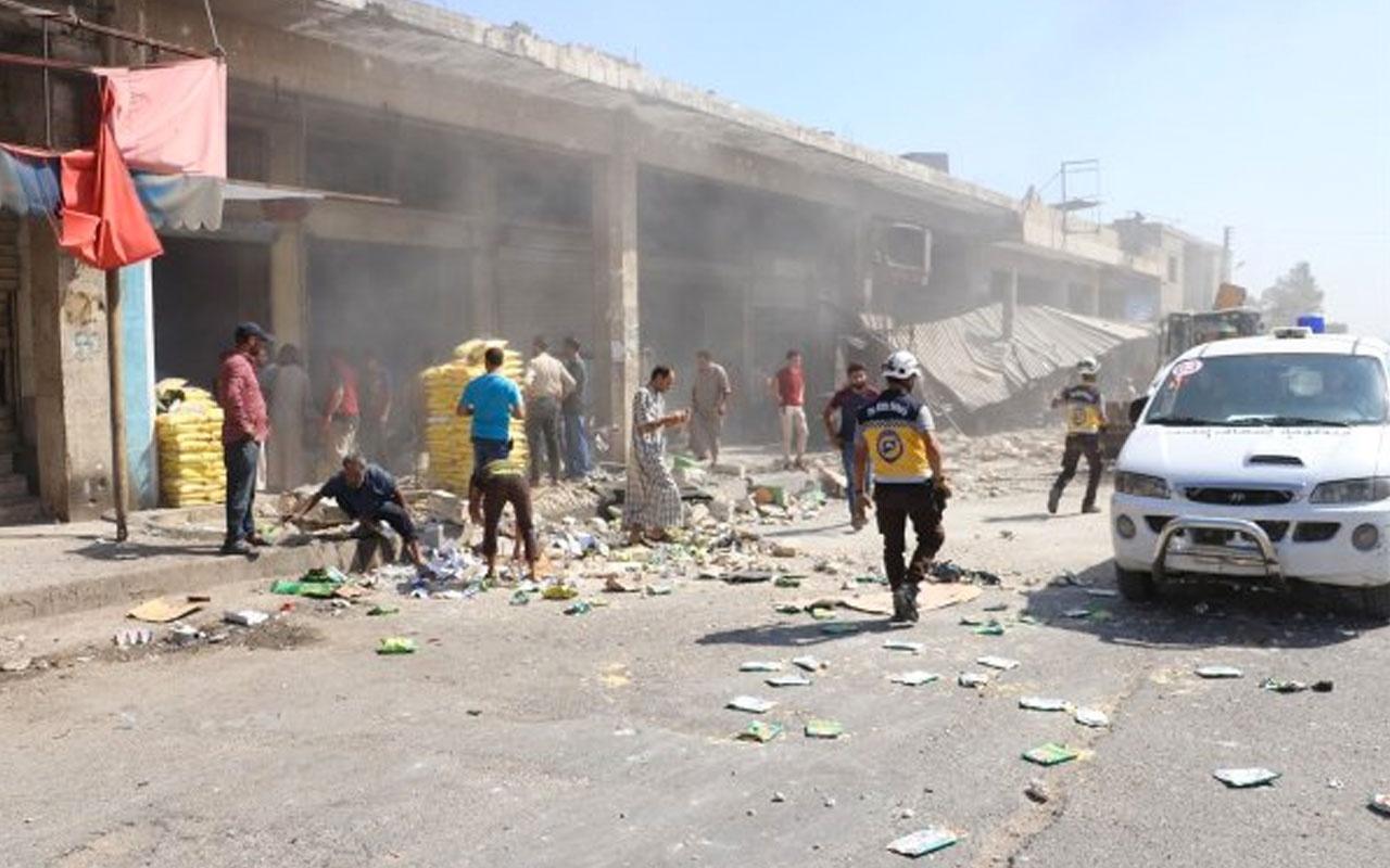 İdlib'teki saldırılarda 6 sivil öldü