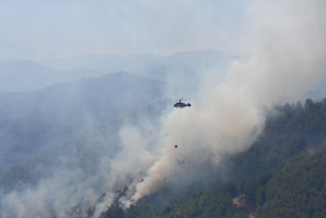 İzmir'deki orman yangınında görev alan Ukraynalı pilot ölü bulundu