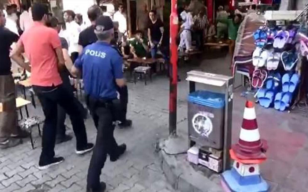 Van'da polisin eylemciye çok konuşulan müdahalesinin öncesi ortaya çıktı