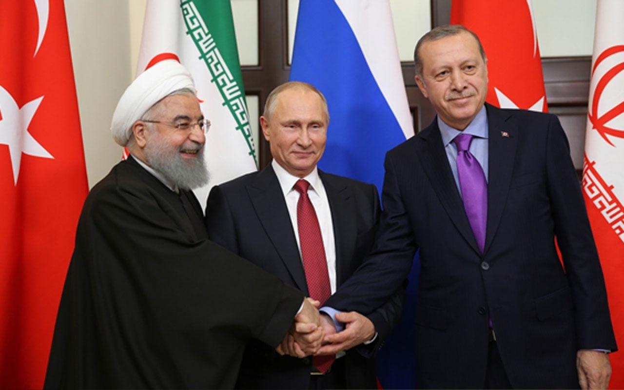 Rusya-Türkiye-İran zirvesi! Kremlin Sözcüsü Dmitriy Peskov'dan önemli açıklama