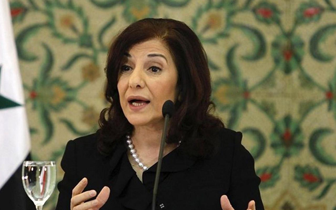 Beşar Esad'ın Danışmanı Buseyna Şaban'dan küstah açıklama! Türkiye'yi böyle tehdit etti