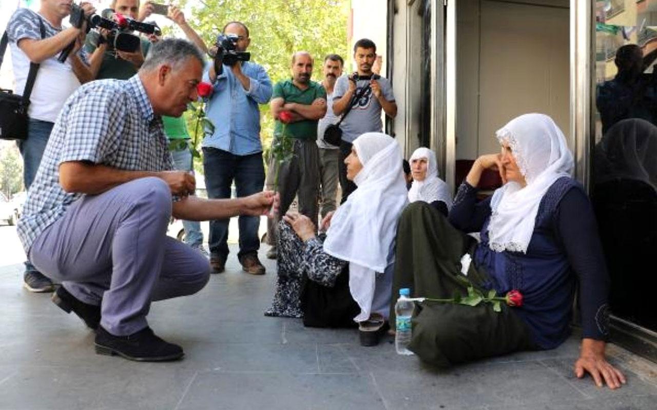 Dağa kaçırıldı denilen genç bakın nereden çıktı! Annesi HDP önündeki eylemini bitirdi