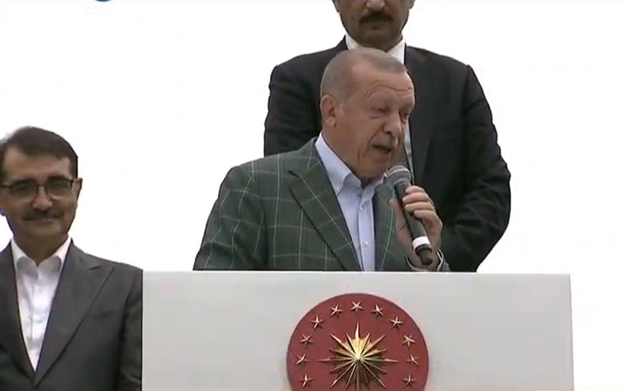 Cumhurbaşkanı Erdoğan'dan Batı'ya Doğu Akdeniz tepkisi tehdit mehdit dinlemeyiz