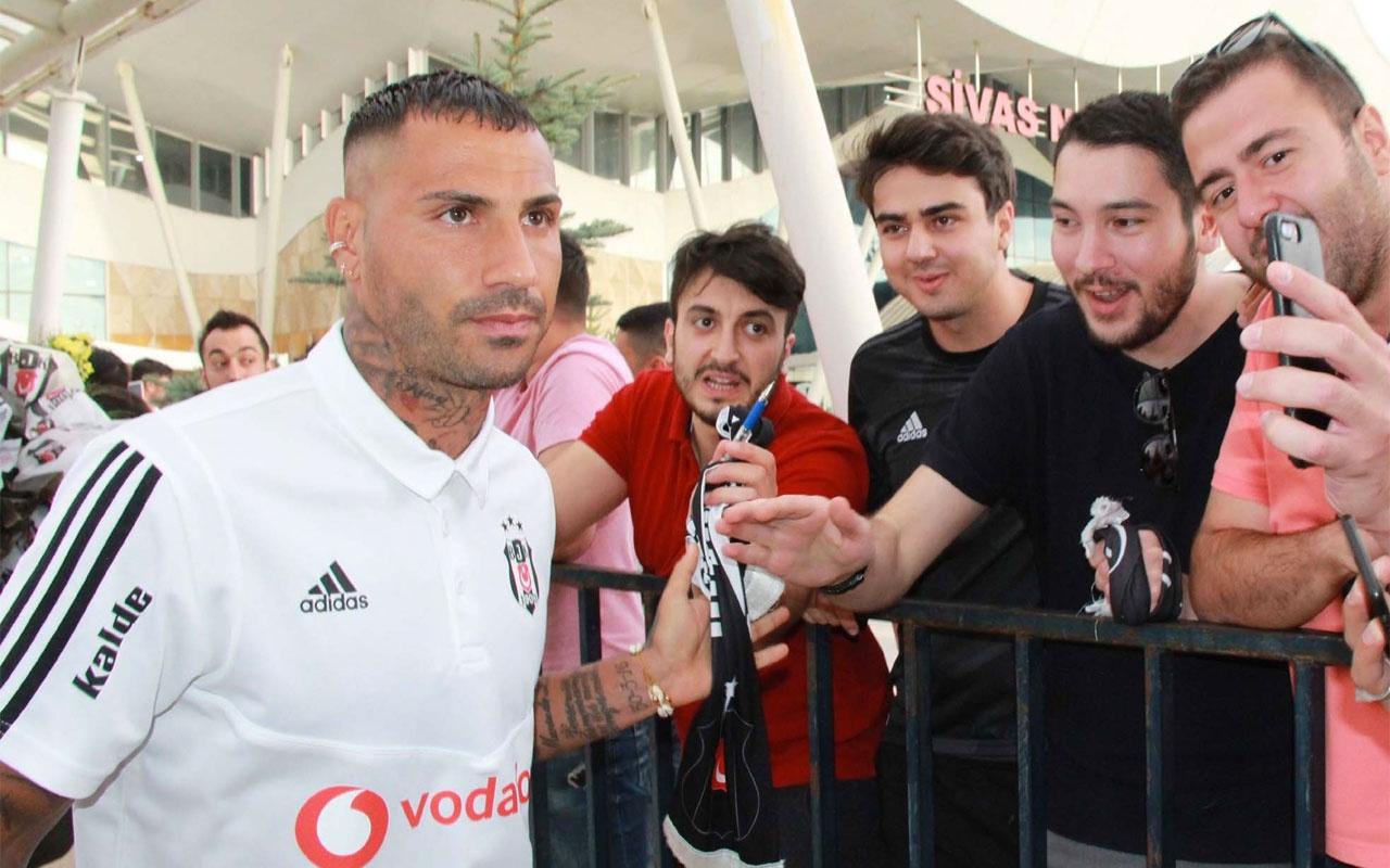 Beşiktaş'ta Quaresma kadro dışı kaldı