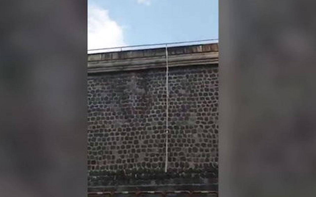 Napoli'deki cezaevinden 100 yıl sonra ilk firar