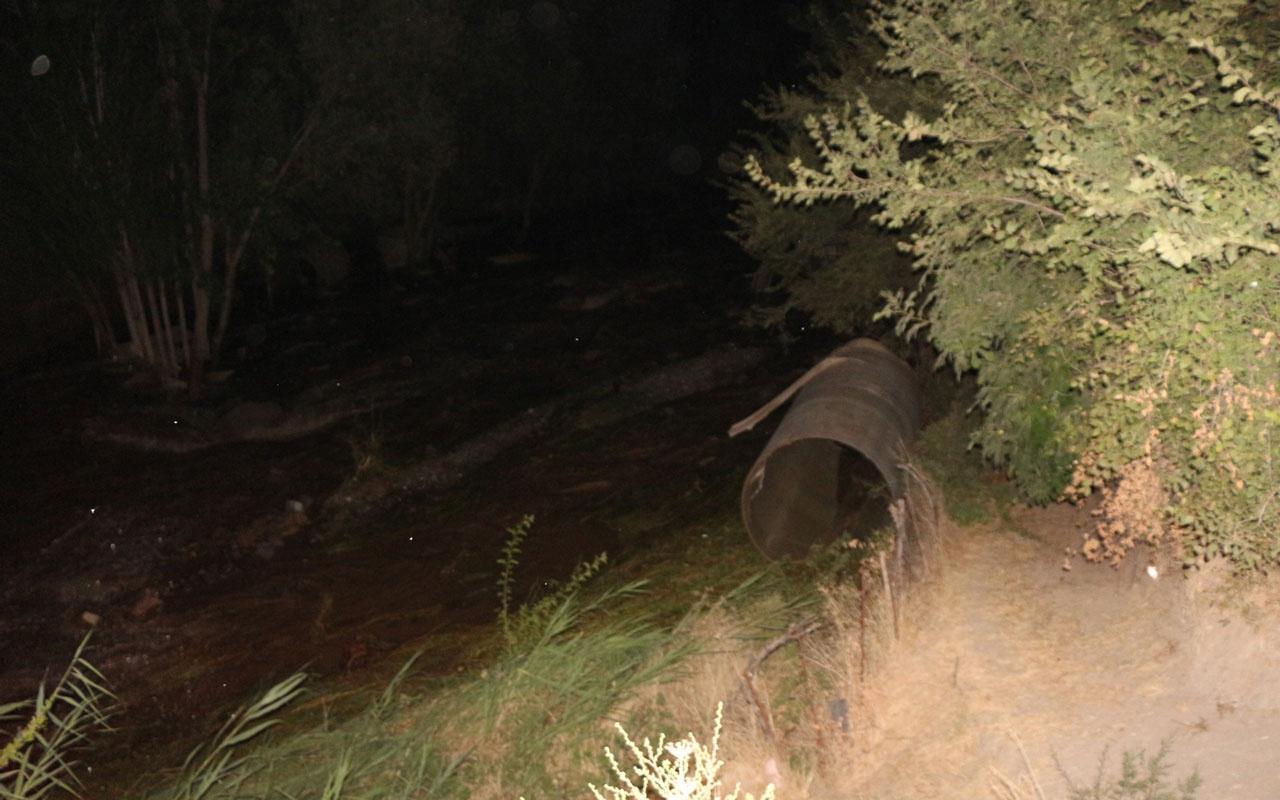 Batman'da sulama kanalının borusu patladı ekili alanlar sular altında kaldı
