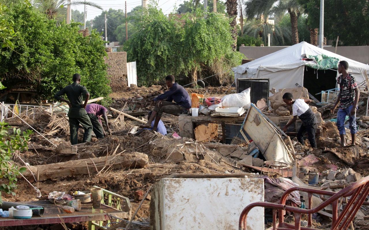 Sudan'da korkunç sel felaketi: 62 kişi hayatını kaybetti