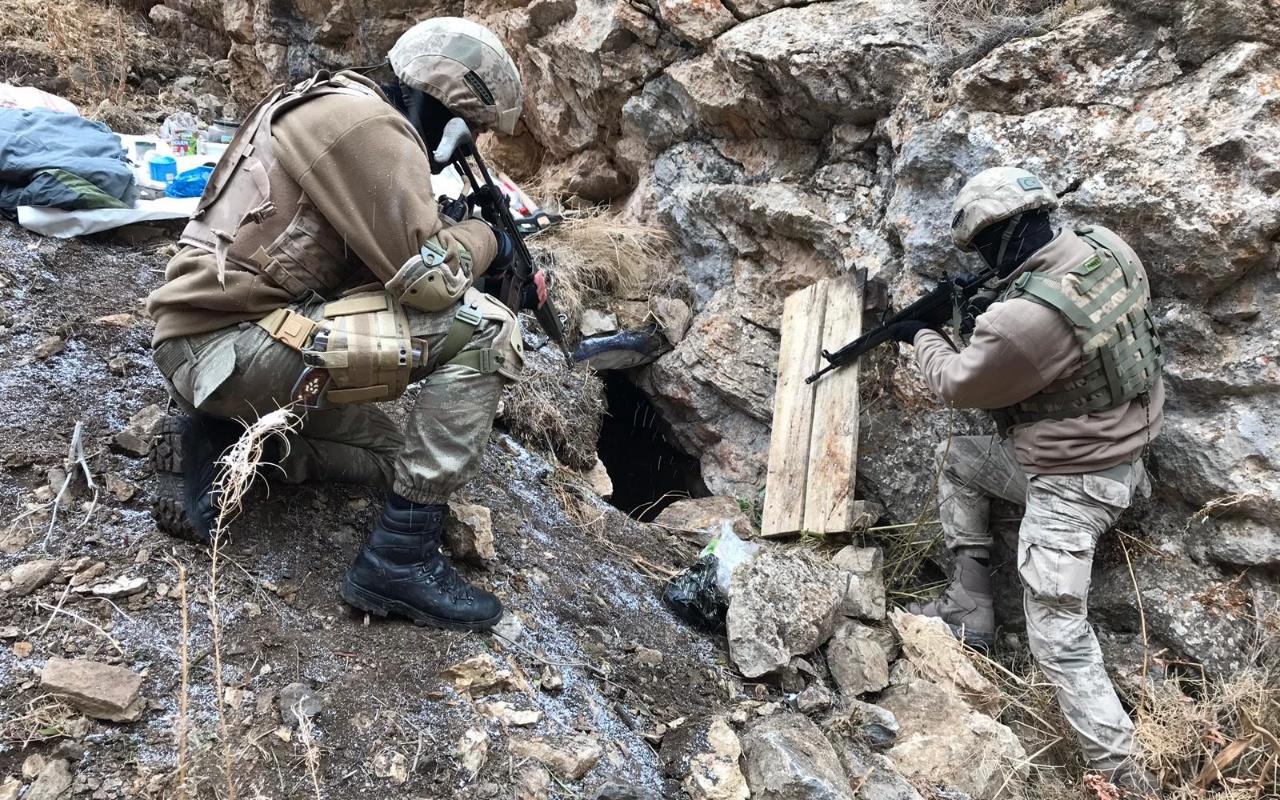 Siirt'te etkisiz hale getirilen terörist Gri Liste'de çıktı