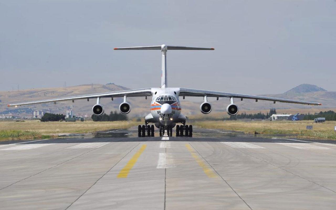 MSB duyurdu...S-400 ikinci batarya sevkiyatı başladı... İlk uçak indi