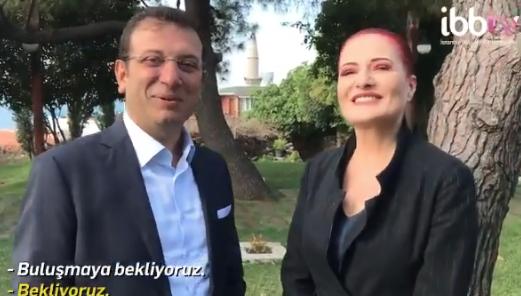 Ä°BB Başkanı Ekrem Ä°mamoğlu ile Candan Erçetin´den Ä°stanbullulara 30 Ağustos daveti - Sayfa 9
