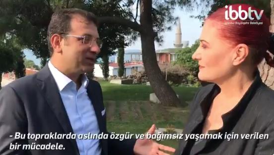 İBB Başkanı Ekrem İmamoğlu ile Candan Erçetin´den İstanbullulara 30 Ağustos daveti - Sayfa 2